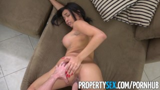 PropertySex - Landlord fucks new personal assistant  ass landlord bush big-cock point-of-view blowjob cumshot propertysex missionary tenant busty hardcore reality facial doggystyle evicted