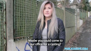 Public Agent Cute Russian loves sex for cash  reality real camcorder publicagent shaved lee anne outdoors outside cumshot public pov amateur