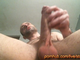 Starman X - big cock edging session and cum 01