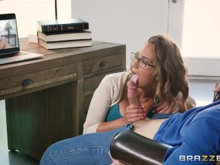 Brazzers - Naughty assistant Layla London loves cock