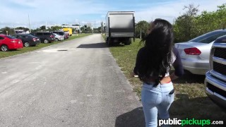 Mofos - Mixed Race Hottie's Public Pick-Up  ass teen big-tits huge-tits mofos point-of-view amateur blowjob huge-cock public-sex pov missionary young shaved teenager publicpickups