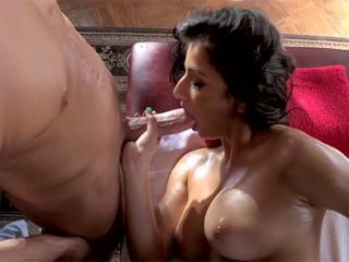 Try Before You Buy: Hot Latina Megan Salinas Gets Dominated by Customer