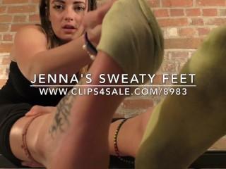 Jenna's Sweaty Feet - www.c4s.com/8983/17128416