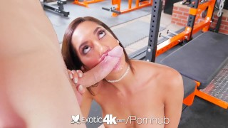 EXOTIC4K Chloe Amour fucks big cock in the gym