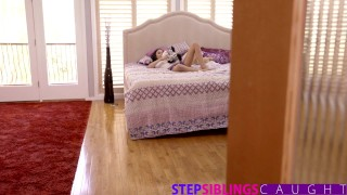 StepSiblingsCaught - Helping My Step Sister Ariana Marie Cum blowjob stepsiblingscaught babe big-cock huge-cock step-sis cumshot natural-tits step-brother huge-dick skinny missionary caught-masturbating sister petite doggystyle