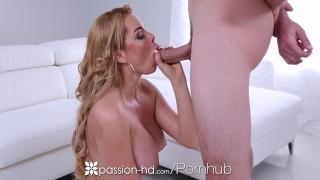 PASSION-HD Big tit Skyla Novea gets her pink pussy stuffed with big dick
