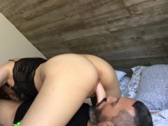 My first face sitting and dildo