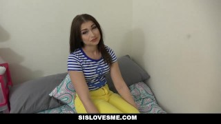 SisLovesMe - Afterschool Road-Head From Babysis step-siblings shaved jennifer-jacobs step-sis sislovesme stepsis step-brother small-tits pov brunette cum shot trimmed facialize point-of-view step-sister facial