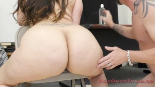 48 Inch Ass Worship - Alycia Starr Femdom  ass-worship facesitting big-ass femdom chubby kink big-butt butt meanbitches lick-her-ass face-riding kiss-her-ass alycia-starr