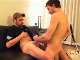Big titty ex girlfriend sucks dick and fucked