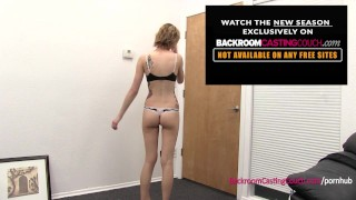 This actress is in over her head  agent backroomcastingcouch amateur blonde blowjob pov casting real doggy petite short-hair first-time tattoos failnal behind the scenes