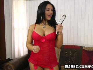 WANKZ- Bella Reese Enjoys Playing Hard with Herself