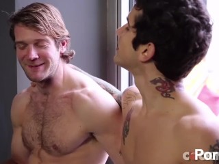 Colby Keller Drills Pierre Fitch - Scene 1