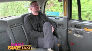 Female Fake Taxi Reporter receives hot sex scoop and deepthroat blowjob