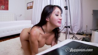 Katsuni and Manuel Ferrara, Anal  asian anal live-sex-show french-anal french katsuni asian katsuni-anal small-ass skinny live full-french-movie manuel-ferrara anal