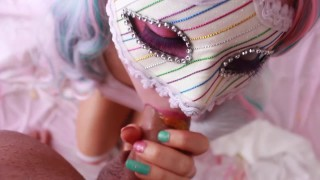 SECRETCRUSH - Candy Land || Teen Teases Ass Squirts Stuffs Ass With Sweets  teen squirt sexy innocent enema fetish squirting kinky candy piss cute prolapse anal ass squirt lollies