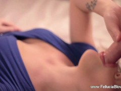 She Blows The Cock Upside Down