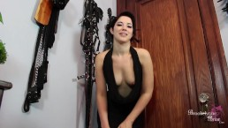 Hot Date Teases You With Her Perky Tits And Asks You To Stroke Your Cock