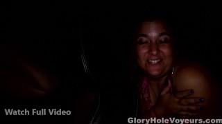 Two Pornstars One Gloryhole natural-tits gloryholevoyeurs big-tits big-boobs glory-hole gloryhole swallow kink melanie hicks gloryhole pornstar gloryhole secrets