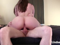 Hardcore Riding & Deep Creampie with LindseyLove