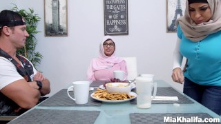 Big Tits Arab Pornstars Mia Khalifa and Julianna Vega Fuck Big Dick White D  big tits hijab mom pornstar lebanese julianna ega busty taboo latina mother threesome stepmom arab mia callista mia khalifa big boobs step mom