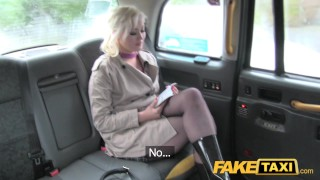 Fake Taxi Journalist gets exclusive fake news story from London taxi driver  news reporter misha mayfair british oral point-of-view blonde public pov camera faketaxi rimming spycam car dogging rough fake
