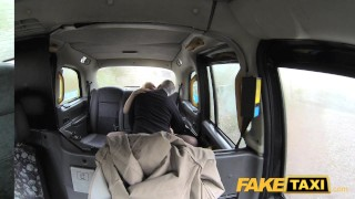 Fake Taxi Journalist gets exclusive fake news story from London taxi driver  news reporter misha mayfair british oral blonde public pov fake camera faketaxi rimming spycam car dogging rough