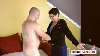 Bald Guy Gets Destroyed and Strip Rock Paper Scissors
