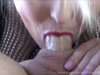 Cum overload - lil blonde cutie gets pussy eaten, fucked & mouth flooded 69