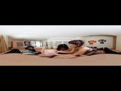VR BANGERS-Three Hot Asian Girls Suck Your Dick with Cindy Starfall