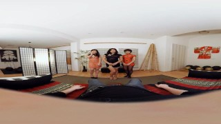 VR BANGERS-Three Hot Asian Girls Suck Your Dick with Cindy Starfall  virtual asian blowjob young 360 vr porn reality pov-blowjob small-tits teenager vr vr-porn vrporn virtual-reality-porn three-girls-blowjob japanese-geisha vrbangers