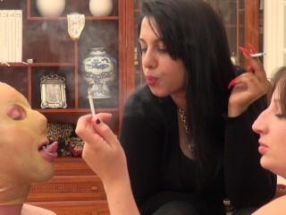 Mistress Laila Smoking Ashtray
