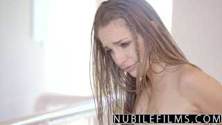 NubileFilms - Playful Coeds Have Intense Lesbian Threesome  ass for-women eating-pussy lesbians nubilefilms threeway blonde skinny anya olsen brunette kimmy-granger small-tits orgasm teenager very young scarlett sage