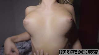 Nubiles-Porn Busty Blonde Wakes Up To Hard Cock  big ass riding babe big-cock step-brother point-of-view blonde cumshot busty young natural-tits reverse-cowgirl step-sis deepthroat nubiles-porn kandance kayne