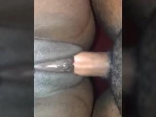 Ebony Gets Fucked Up Close