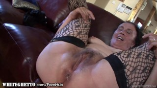 whiteghetto ass-fuck fat bbw granny grandma cougar amateur deepthroat hairy fishnets anal anal-sex buttfucking stockings doggystyle