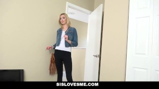 SisLovesMe - Helping Hot Step-Sis With Her Workout  hairy step-brother point-of-view blonde cumshot pov skinny smalltits step-sister step-bro sislovesme stepsis facialize facial haley-reed