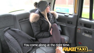 Fake Taxi Lady wants drivers cock to keep her warm faketaxi rough public car outside blowjob oral blonde gagging camera rimming doggystyle