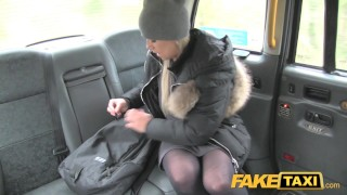 Fake Taxi Lady wants drivers cock to keep her warm  faketaxi car rimming rough gagging doggystyle outside oral public blowjob blonde camera