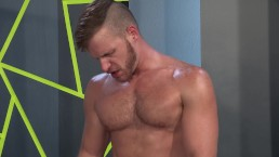 RagingStallion Jock Gets Sweaty After Tasting Cock