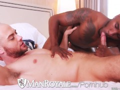 ManRoyale - Interracial cock sucking ass eaters