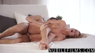 NubileFilms - Beautiful Sex Makes Young Redhead Cum  chrissy fox babe redhead nubilefilms blowjob bedroom cumshot skinny busty hardcore czech shaved orgasm bigcock doggystyle for women