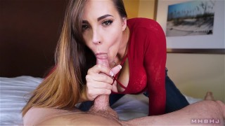 Sasha POV  edging brunette mhbhj facial mark rockwell marks head bobbers the pose slow teasing blowjob mhb cfnm