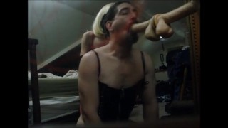 Stunning Dominatrix Makes me Watch Pegging softcore crossdresser pegging femdom-humiliation wife-femdom femdom sissy-crossdress femdom-pegging kink amateur-wife-femdom amateur-crossdresser strapon femdom-strapon