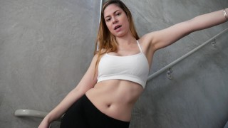 Femdom_BullyDom  big ass point of view female dom dildo femdom amateur solo pov bigtits brunette feet joi toy tease shoes yoga pants