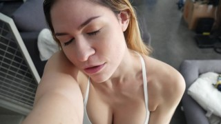 Femdom_BullyDom  big ass point of view tease dildo femdom amateur solo pov bigtits brunette feet joi shoes toy yoga pants female dom