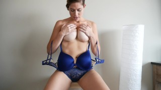 Femdom_Principal dildo tattooed dancing femdom masturbation amateur big-ass thick-legs striptease big-tits brunette shaking-ass fetish tan-lines adult-toys