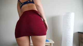 Femdom_Principal tan lines dildo tattooed dancing femdom masturbation big tits amateur big ass thick legs striptease brunette shaking ass fetish adult toys