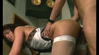 Saucy MILF Sexy Stockings Fucked And Fisted