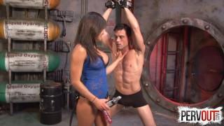 Chichi Medina Fucks Her Slave Lance Hart  kink fitness models latina chichi medina sweetfemdom chichi medina anal lance hart bdsm pegging fit models strapon